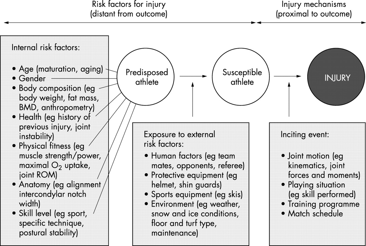 Risk Factors For Sports Injuries A Methodological