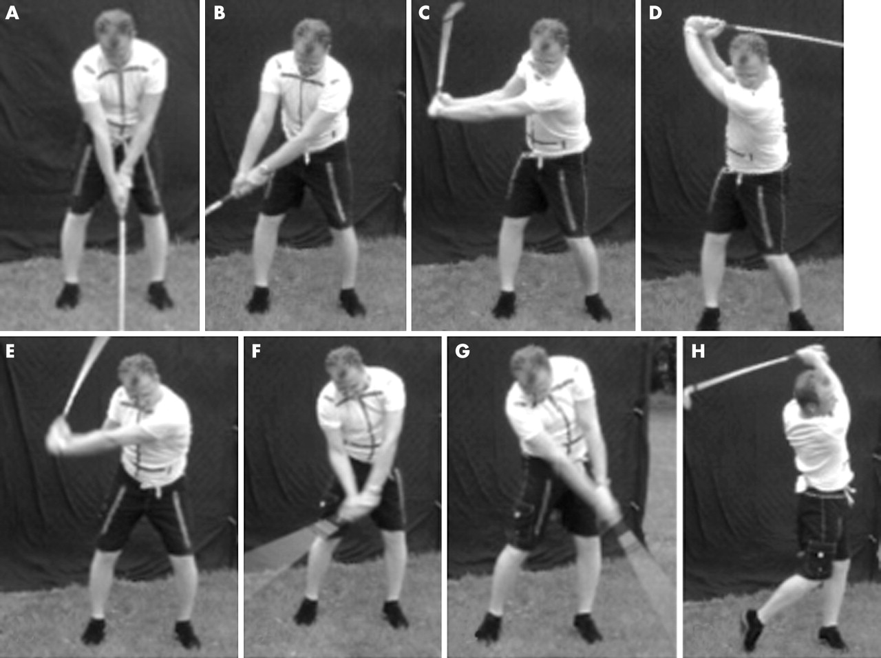 Muscle activity during the golf swing | British Journal of