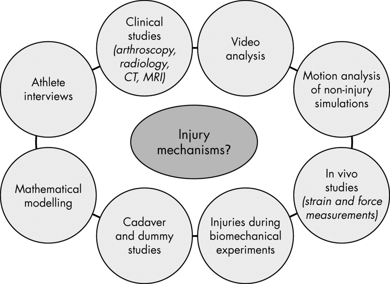Research approaches to describe the mechanisms of injuries in sport