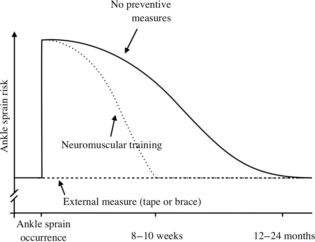 Optimising Ankle Sprain Prevention A Critical Review And Practical Measuring Tape Diagram Download Figure