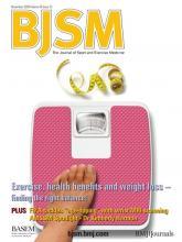 British Journal of Sports Medicine: 43 (12)