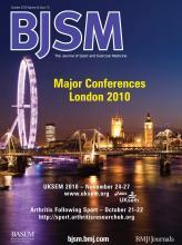 British Journal of Sports Medicine: 44 (13)