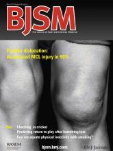 British Journal of Sports Medicine: 44 (6)