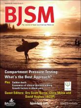 British Journal of Sports Medicine: 45 (12)