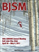 British Journal of Sports Medicine: 45 (2)