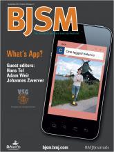 British Journal of Sports Medicine: 46 (12)