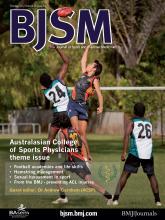 British Journal of Sports Medicine: 46 (13)