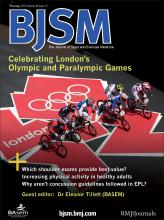 British Journal of Sports Medicine: 46 (14)
