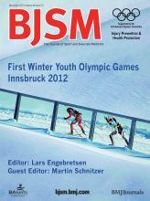 British Journal of Sports Medicine: 46 (15)