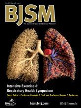British Journal of Sports Medicine: 46 (6)