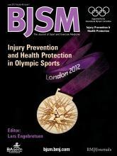 British Journal of Sports Medicine: 46 (7)