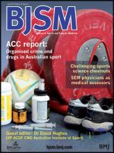 British Journal of Sports Medicine: 47 (11)