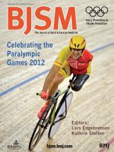 British Journal of Sports Medicine: 47 (13)