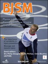 British Journal of Sports Medicine: 47 (2)