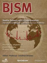 British Journal of Sports Medicine: 47 (3)