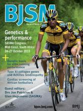 British Journal of Sports Medicine: 47 (9)