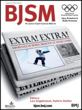 British Journal of Sports Medicine: 48 (1)