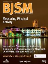 British Journal of Sports Medicine: 48 (13)