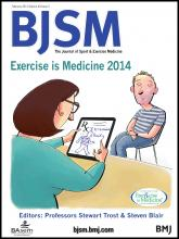 British Journal of Sports Medicine: 48 (3)