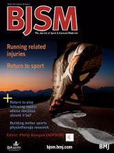 British Journal of Sports Medicine: 48 (5)