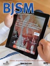 British Journal of Sports Medicine: 48 (8)