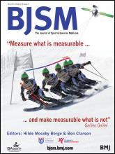 British Journal of Sports Medicine: 48 (9)