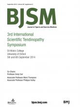 British Journal of Sports Medicine: 48 (Suppl 2)