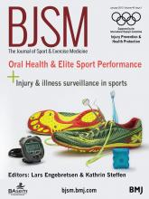 British Journal of Sports Medicine: 49 (1)
