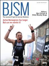 British Journal of Sports Medicine: 49 (11)