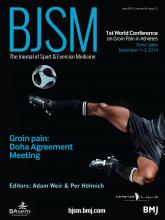 British Journal of Sports Medicine: 49 (12)