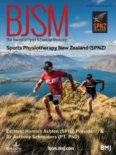 British Journal of Sports Medicine: 49 (14)