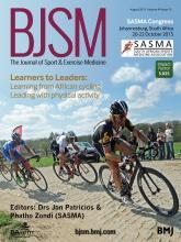 British Journal of Sports Medicine: 49 (15)