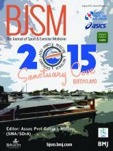 British Journal of Sports Medicine: 49 (16)