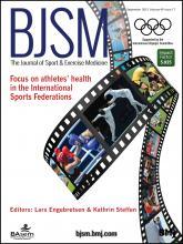 British Journal of Sports Medicine: 49 (17)