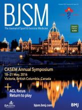 British Journal of Sports Medicine: 49 (20)