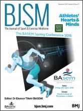 British Journal of Sports Medicine: 49 (21)