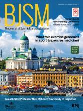 British Journal of Sports Medicine: 49 (23)