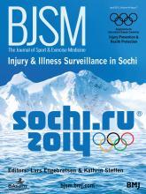 British Journal of Sports Medicine: 49 (7)