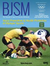 British Journal of Sports Medicine: 50 (11)