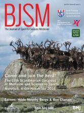 British Journal of Sports Medicine: 50 (13)