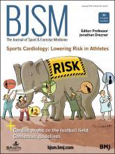 British Journal of Sports Medicine: 50 (2)