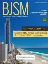 British Journal of Sports Medicine: 50 (20)