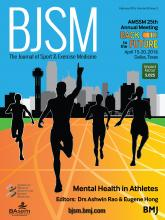 British Journal of Sports Medicine: 50 (3)