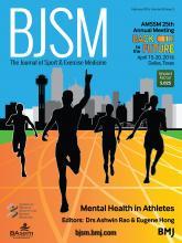 British Journal of Sports Medicine: 50 (3)