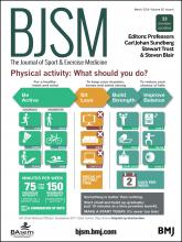 British Journal of Sports Medicine: 50 (6)