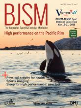 British Journal of Sports Medicine: 50 (7)