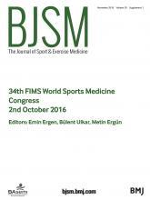 British Journal of Sports Medicine: 50 (Suppl 1)