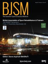 British Journal of Sports Medicine: 51 (10)