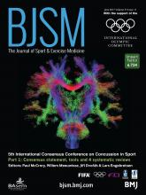 British Journal of Sports Medicine: 51 (11)