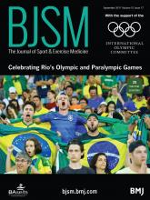 British Journal of Sports Medicine: 51 (17)